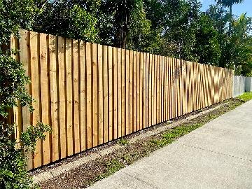 Timber Fence Installation Sunshine Coast