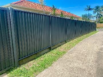 Colorbond Fence Installation Sunshine Coast